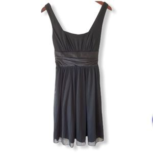 Jump Apparel Size 6 Simple Black Formal Dress